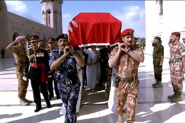 عمان کے سلطان قابوس کی تشییع جنازہ
