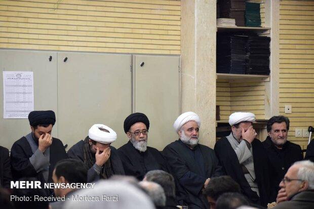 مراسم گرامیداشت شهادت سردار سپهبد قاسم سلیمانی در تبریز