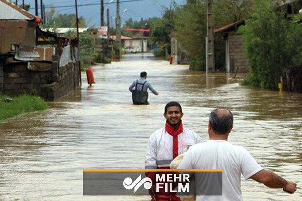 جزیرہ قشم میں سیلاب سے متعلق تصویریں