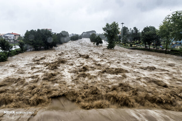 20% of areas in Iran at high risk of flood