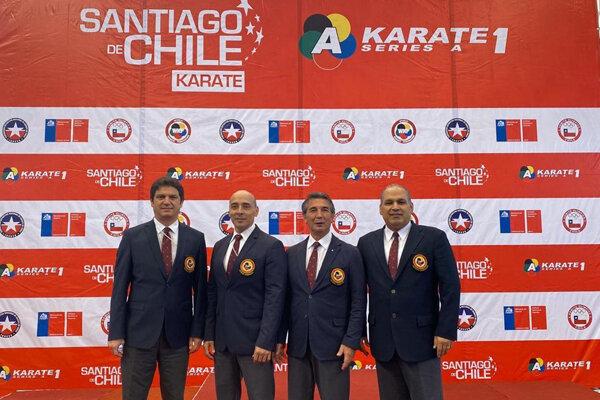سلیمی در جمع سرداوران لیگ جهانی کاراته وان «سری آ»