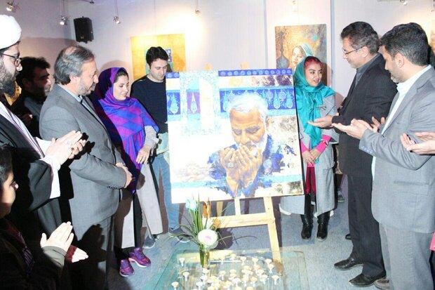 نمایشگاه نقاشی دلنوازان در فرهنگسرای مهر شاهرود گشایش یافت