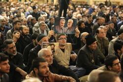 Kum'da Şehit Süleymani için anma töreni
