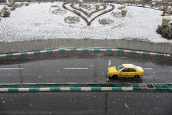 Snow-, rainfall in Yazd prov.