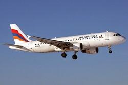 """Ermenistan Hava Yolları """"geçici olarak"""" Tahran'a yaptığı seferleri durdurdu"""