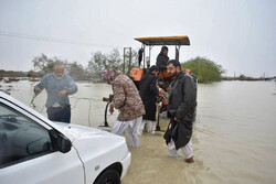 İran'ın güneydoğusunda sel felaketi!