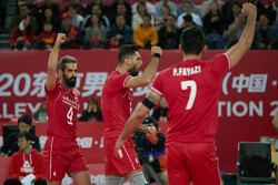 Iran volleyball to take on Tunisia in first step of Wagner cup