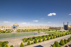 One of the largest city squares in the world, Naqsh-e Jahan Square (Pattern of the World Square), is in the city of Isfahan, built in the early 17th Century.