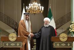 الرئيس روحاني يعلن اتخاذ قرارات جيدة وهامة لتوسيع العلاقات بين إيران وقطر