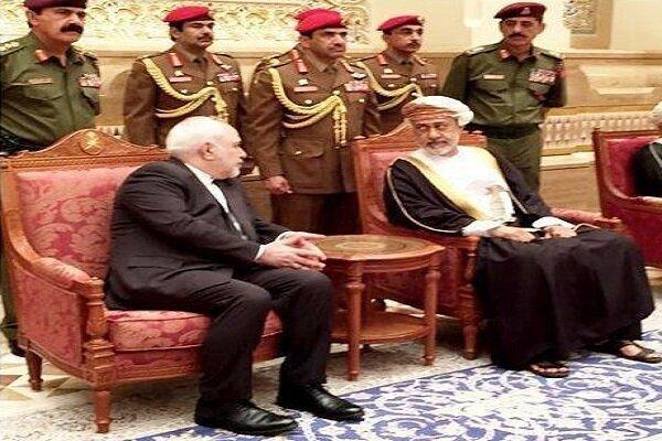ایران کے وزیر خارجہ کی عمان کے نئے سلطان سے ملاقات