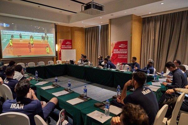 آخرین تمرین تیم ملی والیبال در جیانگمن/ چین دوباره آنالیز شد
