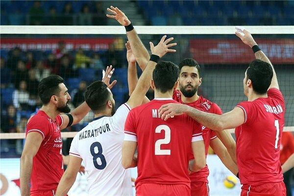 منتخب ايران للكرة الطائرة يفوز على نظيره الصيني