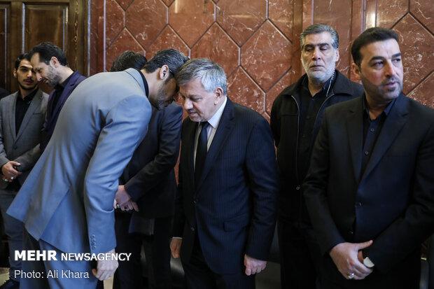 سعد جواد قندیل سفیر کشور عراق در ایران در بزرگداشت سپهبد شهید قاسم سلیمانی و همرزمانش