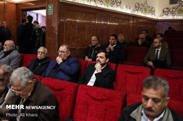 سید ضرغام حسینی در مراسم بزرگداشت سپهبد شهید قاسم سلیمانی و همرزمانش