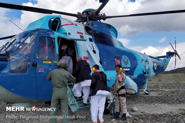 نجات شش نفر از اهالی روستای گدیچ زرآباد از سیلاب