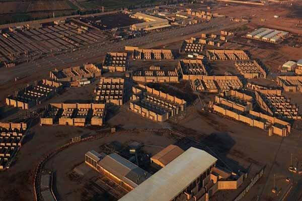 شلیک موشک به پایگاه هوایی بلد عراق