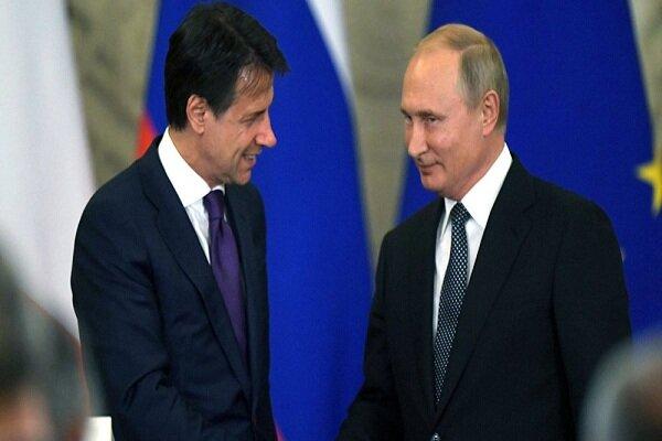 کرملین: پوتین و نخستوزیر ایتالیا رایزنی کردند