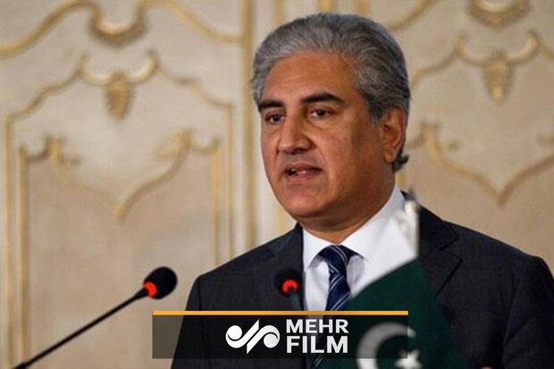 وزير الخارجية الباكستاني يصل مشهد المقدسة