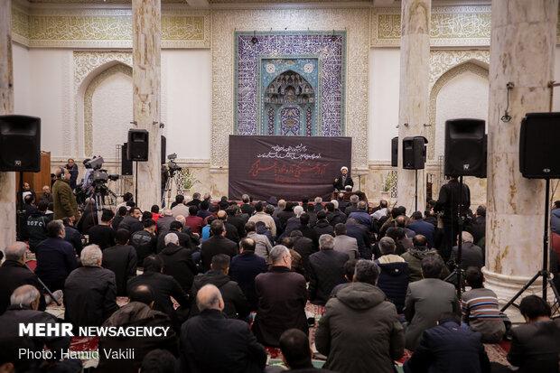 Commemoration ceremony of victims of Ukrainian plane crash observed in Tehran