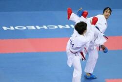 المنتخب الايراني يتربع على عرش بطولة الكاراتيه في تشيلي