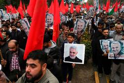 Pakistan halkı Korgeneral Süleymani suikastını kınadı