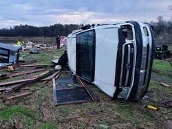 امریکہ میں طوفان اورسیلاب کے باعث 12 افراد ہلاک
