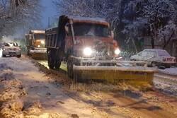 کاهش شدید دمای هوا در کردستان/جاده های استان همچنان لغزنده است