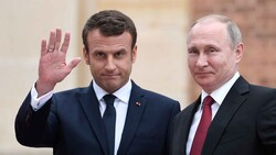 Putin, Macron