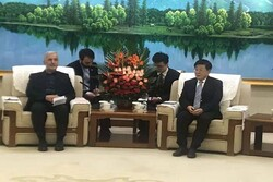 Iran's DCH head  meets Chinese Minister of Public Security