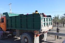 ارسال ۲۰ کامیون تجهیزات به مدارس سیستان و بلوچستان