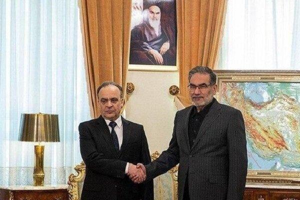 Shamkhani, Syrian PM hold meeting in Tehran