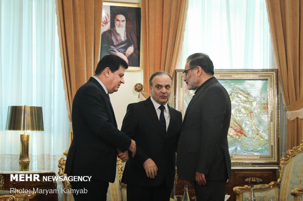 Shamkhani holds talk with Syrian PM