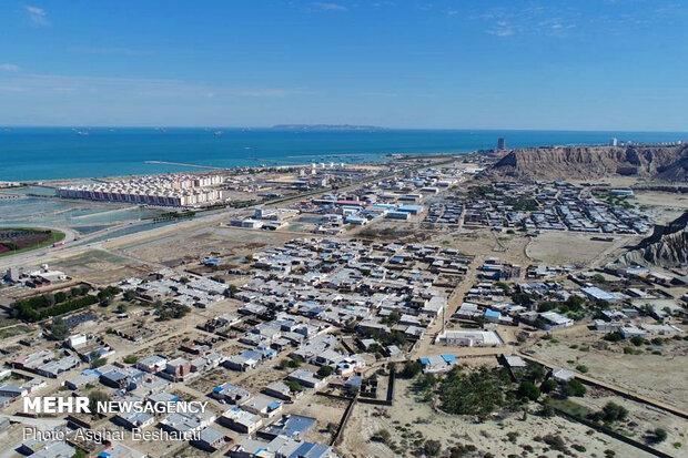 آبگرفتگی روستاهای طولا و رمچاه در جزیره قشم