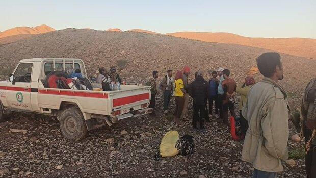 نیروهای امدادی کوهنوردان گرفتار در ارتفاعات فین را نجات دادند