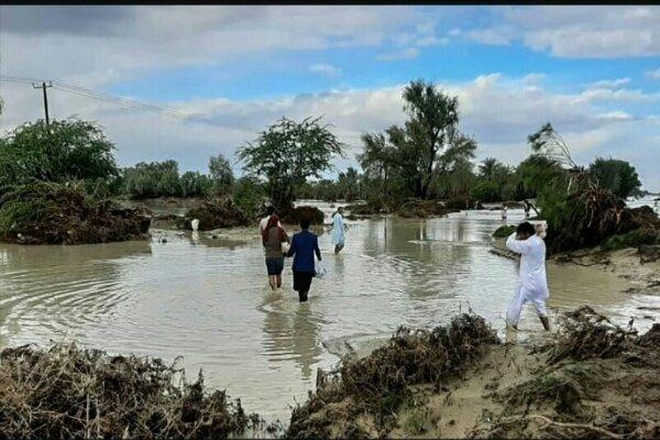 خدمترسانی آستان قدس رضوی به مردم سیلزده سیستان و بلوچستان