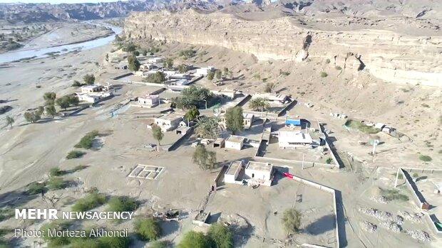 İran'ın güneyindeki sel felaketinden kareler
