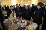 Rouhani pays visit to agricultural achievements expo