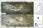 مرکز پایش ماهواره ای سازمان فضایی ایران , جمعیت هلال احمر , سازمان مدیریت بحران ,تهیه نقشه پهنههای سیل جنوب کشور