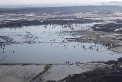 سیلاب بر زمین خشکیده شرق کرمان/ آبها راهی کویر میشوند