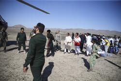 سیستان اور بلوچستان میں امداد رسانی کا کام جاری