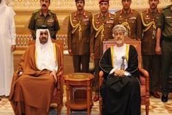 معاون امیر قطر با سلطان جدید عمان دیدار کرد