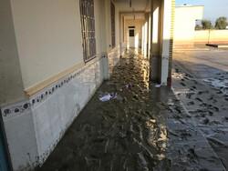 ۵۳ مدرسه جاسک بر اثر سیل و بارندگی آسیب جدی دیده اند