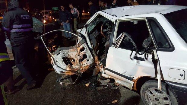 تصادف در زنجان سه کشته برجا گذاشت