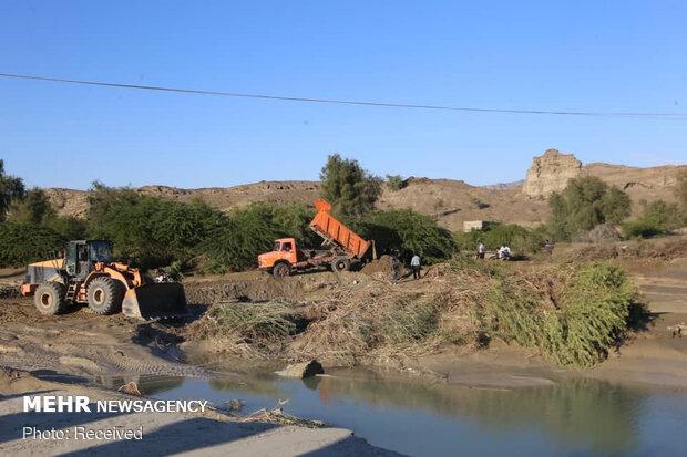 بازگشایی مسیر دسترسی پل شکسته گابریک در جاسک
