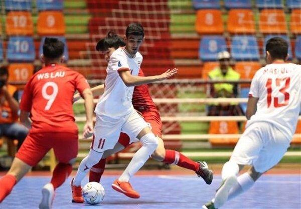 استعدادیابی زیر ۲۰ ساله های آذربایجان شرقی برای تیم ملی فوتسال