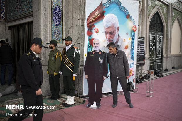 IRGC hosts senior officials to commemorate Lt. Gen. Soleimani