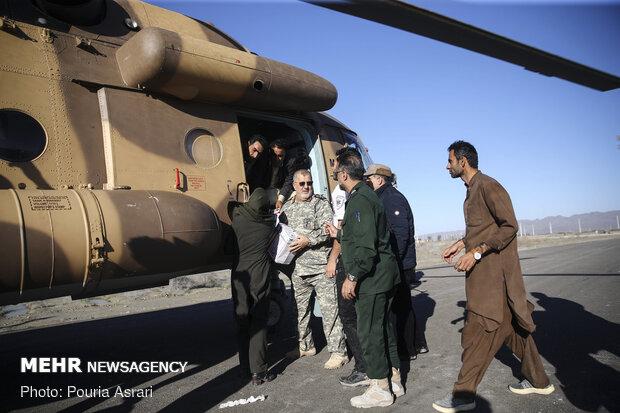 امدادرسانی سپاه در مناطق سیل زده سیستان و بلوچستان
