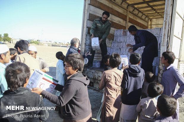 اعزام کاروان کمکهای اهدایی شستا به مناطق سیلزده