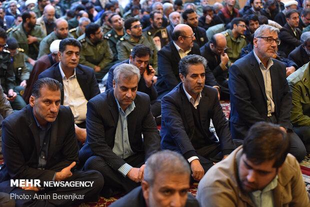 گرامیداشت یاد جانباختگان حادثه هواپیمای تهران_کیاف در سمنان