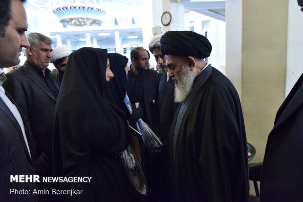بزرگداشت جانباختگان حادثه هوایی تهران - اوکراین در حرم مطهر شاهچراغ(ع) شیراز